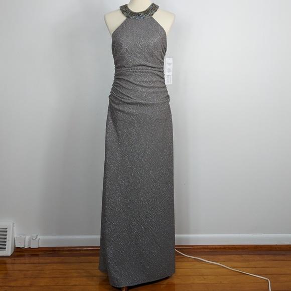 Cachet Dresses | Nwt Glitter Formal Homecoming Evening Dress | Poshmark